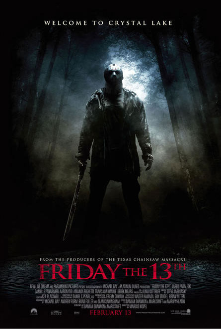 'FRIDAY THE 13TH' (remake) Movie Poster
