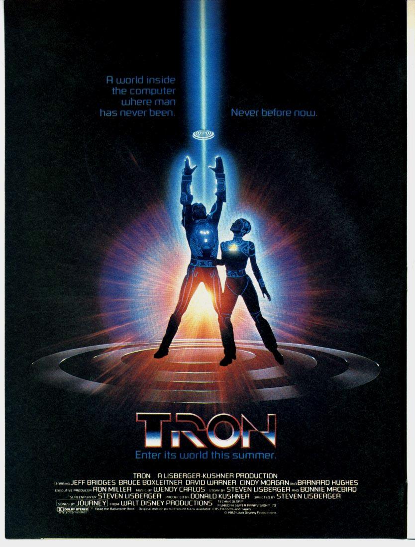 petit jeu cinématographique Tron1