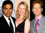 CAPRICA Series Stars: ESAI MORALES, PAULA MALCOLMSON, and ERIC STOLTZ