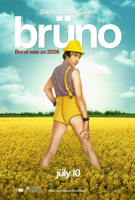 'Brüno' Movie Poster