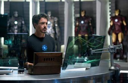 First Still From 'IRON MAN 2'