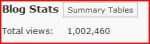 1,000,000 Views: Thank You!!!
