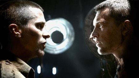 CHRISTIAN BALE And SAM WORTHINGTON Face Off In 'TERMINATOR SALVATION'