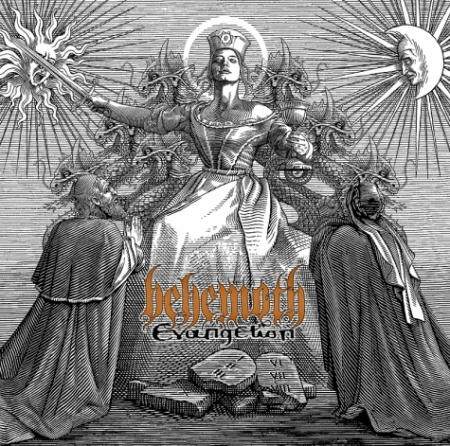 BEHEMOTH: 'EVANGELION' Album Cover