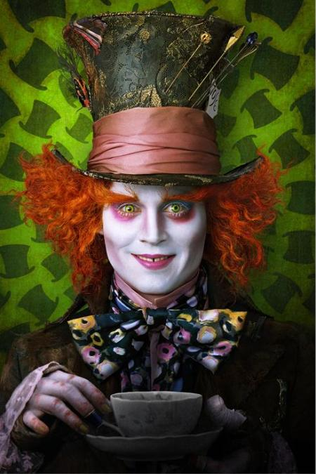 JOHNNY DEPP - THE MAD HATTER