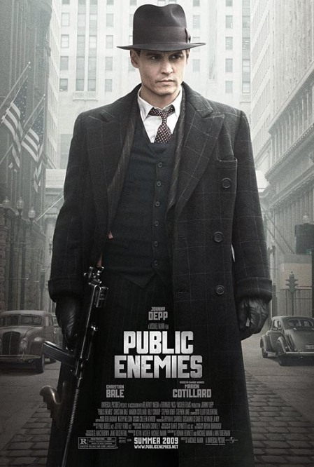 'PUBLIC ENEMIES' Movie Poster
