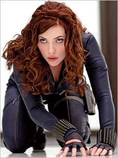 'IRON MAN 2' Update: SCARLETT JOHANSSON As BLACK WIDOW