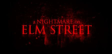 New 'NIGHTMARE ON ELM STREET' Logo