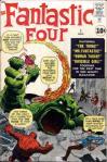 FANTASTIC FOUR #1 circa 1961