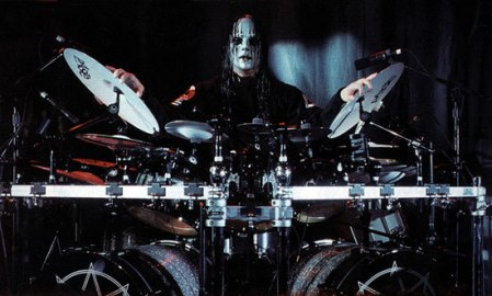 SLIPKNOT Drummer JOEY JORDISON Behind The Kit