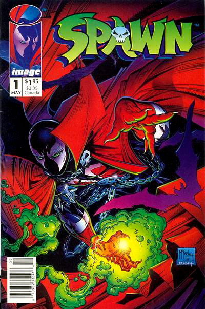 Cover To The First Issue Of SPAWN