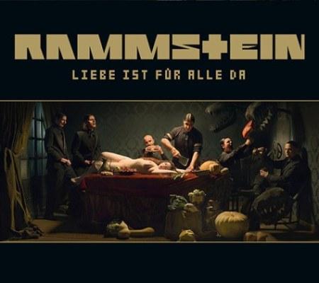 """RAMMSTEIN: New Album Cover For """"Liebe Ist Für Alle Da"""""""