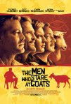 'THE MEN WHO STARE AT GOATS' Movie Poster