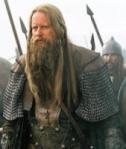 STELLAN SKARSGARD as the Saxon King CERDIC in KING ARTHUR