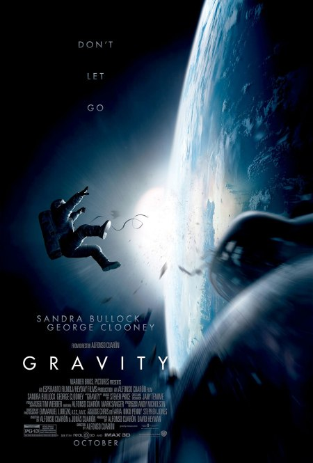 'GRAVITY' Official Movie Poster