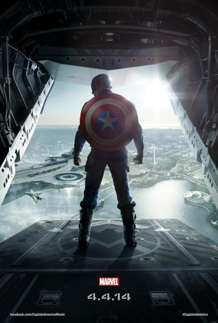 "CAPTAIN AMERICA"" THE WINTER SOLDIER Movie Poster"