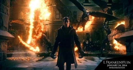 Scene from 'I, FRANKENSTEIN'