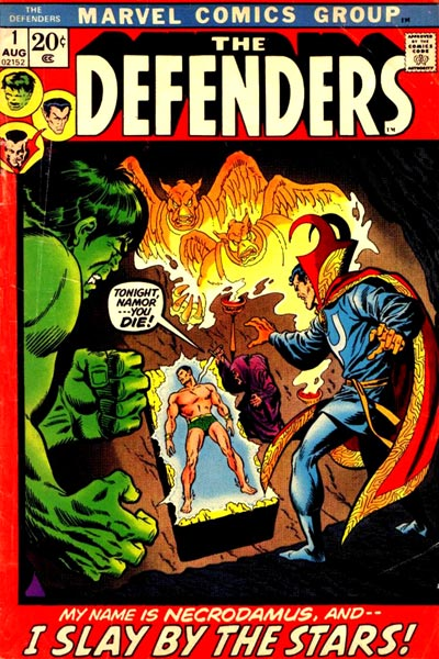 DEFENDERS #1 cover - multiple series in the works whcih will converge in a Defenders mini-series