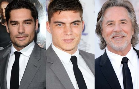 'FROM DUSK TILL DAWN: THE SERIES' cast from left to right; D. J. COTRONA, ZANE HOLTZ, and DON JOHNSON
