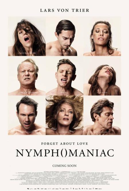 NYMPHOMANIAC Movie Poster