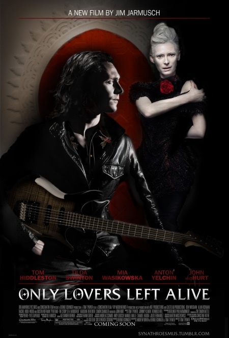 'ONLY LOVERS LEFT ALIVE' Movie Poster