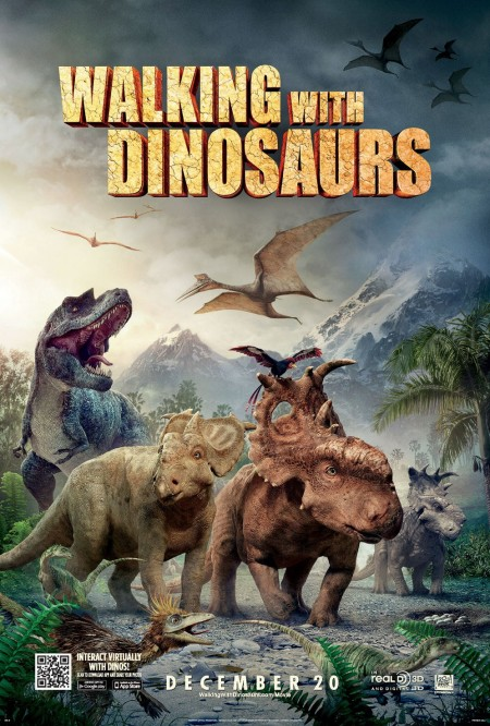 'WALKING WITH DINOSAURS' Movie Poster